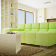 Modern interior room with nice furniture inside. - Stock Photo