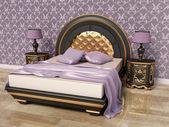 Modern interior room with nice furniture inside. — Foto de Stock