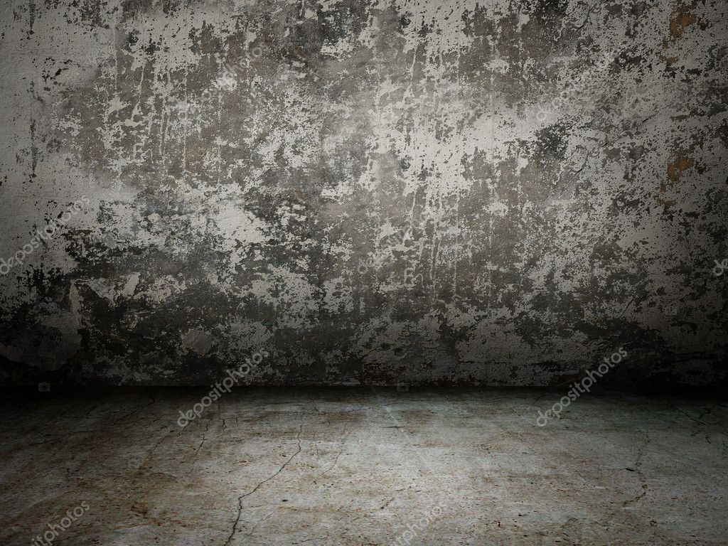 Grey old wall  with light rays — Stock Photo #6923209