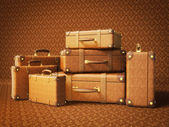 Koffer — Stockfoto