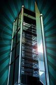Servers Tower — Stock Photo