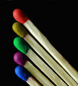 Colorful matches — Stock Photo