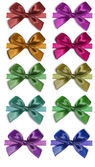 Collection colorful bows — Stock Photo
