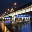 Stock Photo: Novoarbatskiy bridge, Moscow