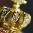Stock Photo: Gold crown