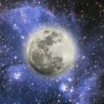 volle maan — Stockfoto