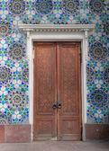 The old door — Stock Photo