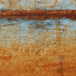 Stock Photo: Rusty steel sheet of metal