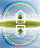 Icono casa — Foto de Stock