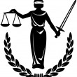 Law and Justice - Stock Vector