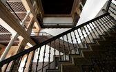 Stair railing — Stock Photo