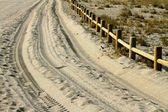 Sandy road — Stock Photo