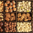 Nut varieties - Stock Photo