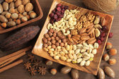 Nuts assorted — Stock Photo