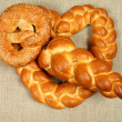 Bread plait — Stock Photo