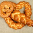 Stock Photo: Bread plait