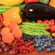 Fruits and vegetables — Stock Photo #7098615