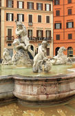 Rome. Place Navona — Stock Photo
