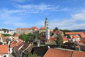 Чехия - Чешский Крумлов — Стоковое фото