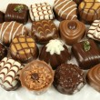 Assorted chocolates — Stockfoto