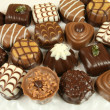 Assorted chocolates — Foto Stock