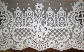 Lace doily — Stock Photo