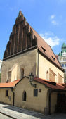 Prague synagogue — Stock Photo