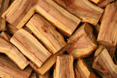 Chopped fire wood — Stock Photo