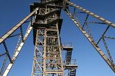 Mine shaft tower — Stock Photo