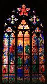 Pentecostes (também chamado domingo de pentecostes) retratado em r. vitus em praga, república tcheca — Foto Stock
