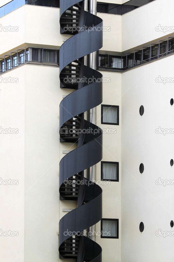 Evacuation stairs — Stock Photo © fotokris44 #7318013