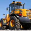Stockfoto: Yellow dozer