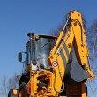 Yellow bulldozer — Stock Photo #7365197