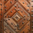 Old wooden door — Stockfoto #7383210