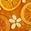 Orange tart — Stock Photo