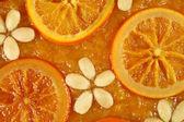 Orange tart — Stock Photo