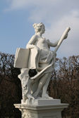 Woman statue in Vienna — Stock Photo
