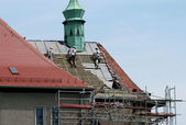 Roofing works — Stock Photo