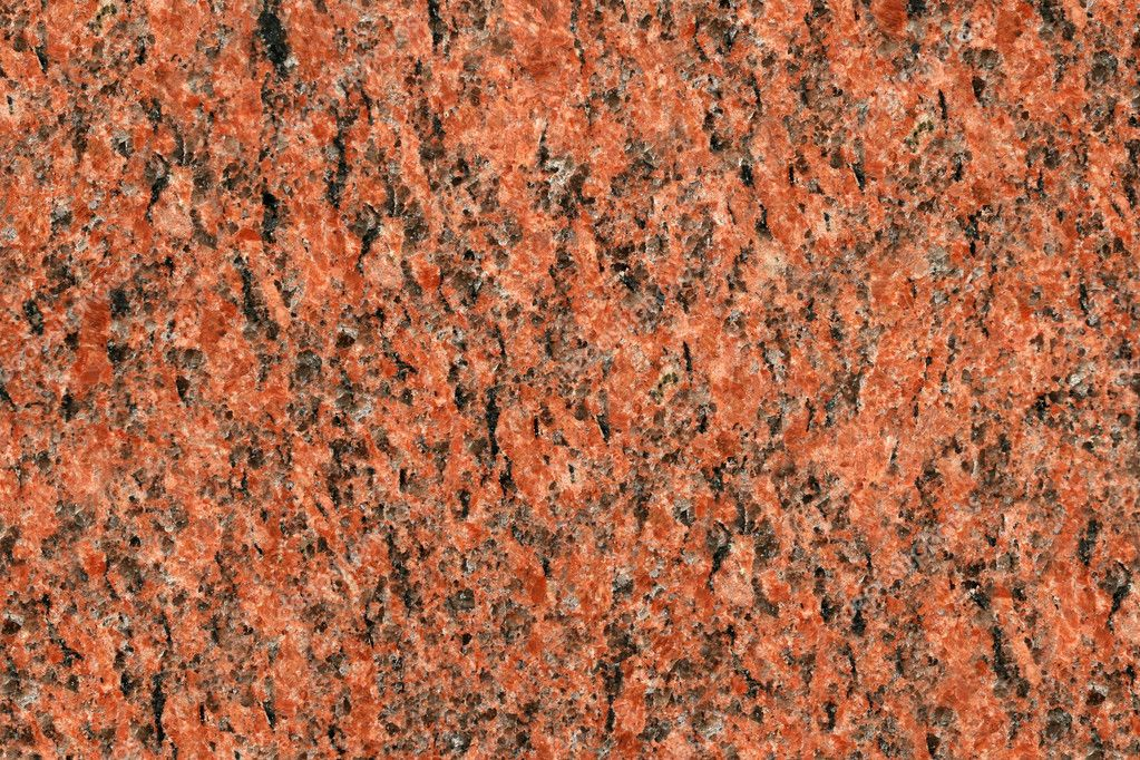 Red granite stone surface texture. Architecture detail background. — Stock Photo #7579264