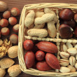 Nut varieties — Stock Photo #7680963