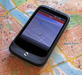 GPS navigation device — Stock fotografie