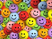 Smartey - colorful smiles — Stock Photo