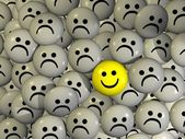 Smartey - one happy — Stock Photo