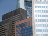 Frankfurt facades (2) — Stock Photo
