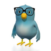 Blubert with glasses — Stock Photo
