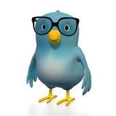 Blubert with glasses — Stock Photo