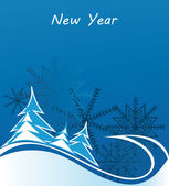 New Year, Christmas, holiday frames, background, banner — Stock Vector