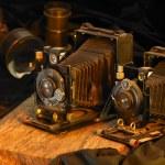 Still life with nostalgic cameras — Stock Photo #6924720
