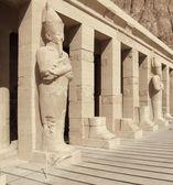 Detail of Deir el-Bahri — Stock Photo