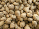 Full frame potatoe background — Stock Photo